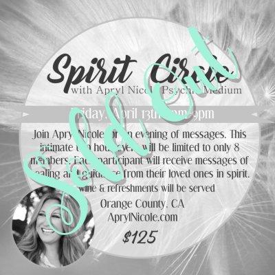 Spirit Circle 4.13.18