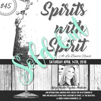 Spirits With Spirit at La Bonita Ranch 4.14.18