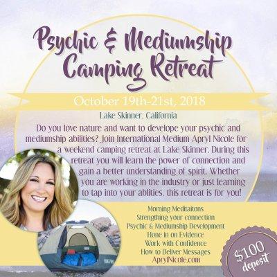 Lake Skinner Camping Retreat 10.19.18