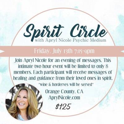 Intimate Spirit Circle 7.13.18