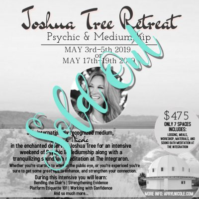 Joshua Tree Retreat 5.3.19