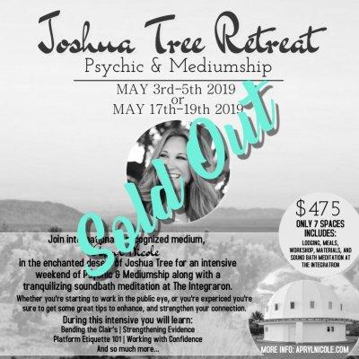 Joshua Tree Retreat 5.3.19