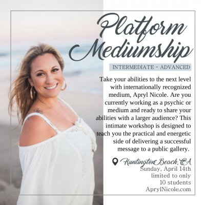 Platform Mediumship 4.14.19