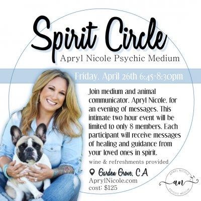 Spirit Circle 4.26.19