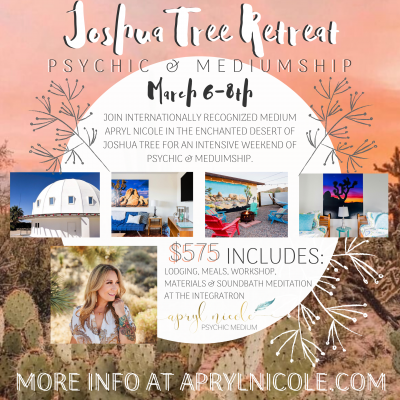Joshua Tree Retreat March 6th-8th