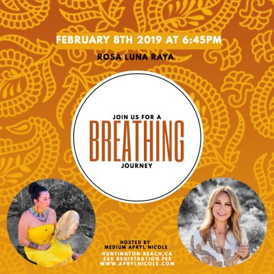 Breathing Journey with Rosa Luna Raya