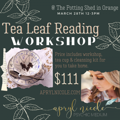 Tea Leaf Reading Workshop
