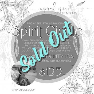 Spirit Circle 2.7.20