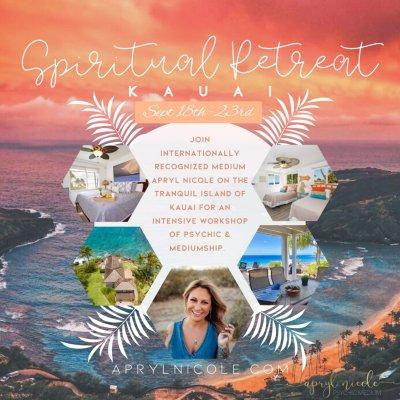 September Kauai Spiritual Retreat