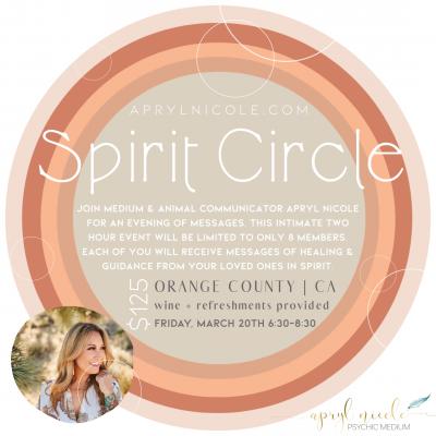 Spirit Circle 3.20.20