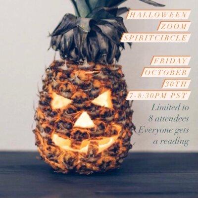 Halloween Zoom Spirit Circle