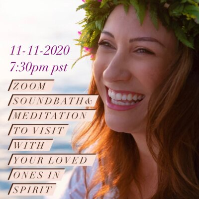 CONNECT TO YOUR LOVED ONES IN SPIRIT THROUGH A GUIDED MEDITATION
