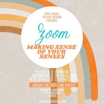Zoom Making Sense of Your Senses